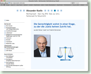 Website Alexander Koelle