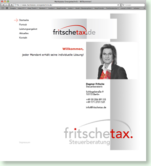 Website Dagmar Fritsche